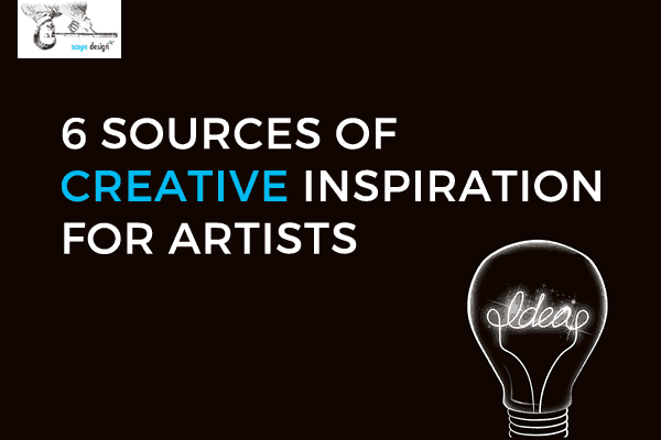 6 Sources of Creative Inspiration for Artists by Scope Design