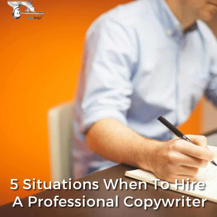 5 Situations Where Hiring A Professional Copywriter Makes Sense by Scope Design