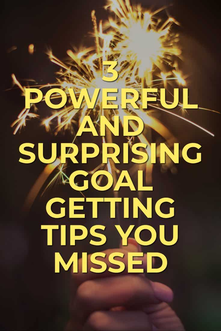 The New Year is upon us. 12 months from now, you can either look back and wish you had achieved that big goal, or look back and be thrilled that you did. Here are 3 Powerful and Surprising Goal Getting Tips That You Missed. via @scopedesign