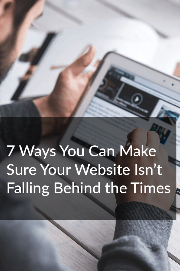 Your website might be out of date, but it doesn't need to stay that way. These 7 quick fixes will ensure that your website isn't falling behind the times. via @scopedesign