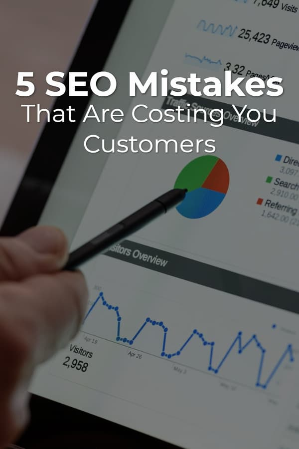 You might be making critical SEO mistakes right now that are driving customers away from your business instead of attracting them. via @scopedesign