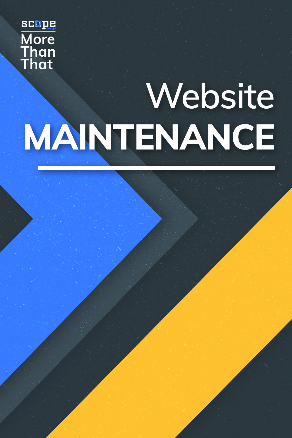 Having to do your website maintenance can be a pain. Sure, some people are prepared to do that, but most people should leave it to the experts, like us! via @scopedesign
