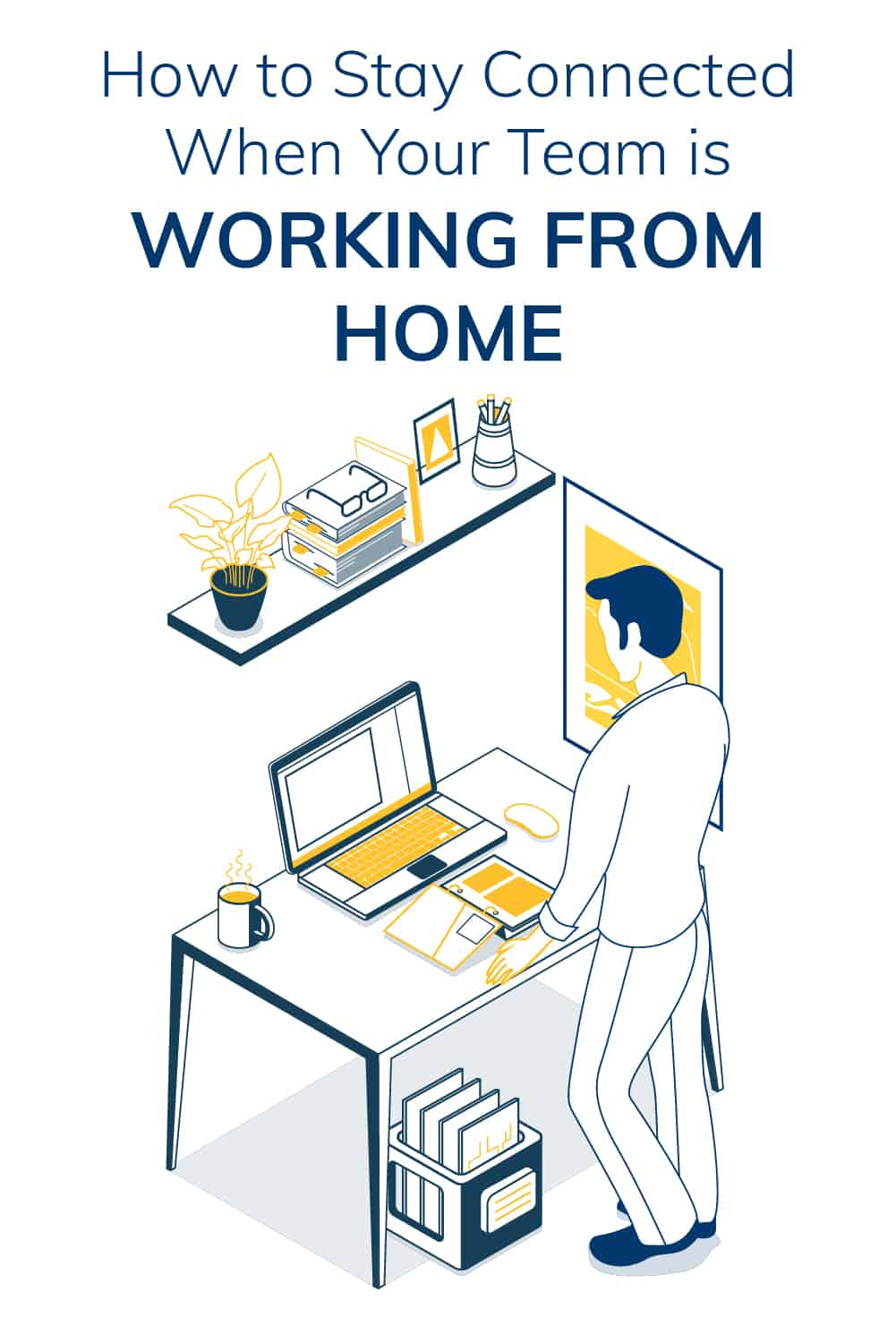 It's become necessary to set up the technology required to allow employees to work from home. Here are some tips to stay connected with your team. via @scopedesign